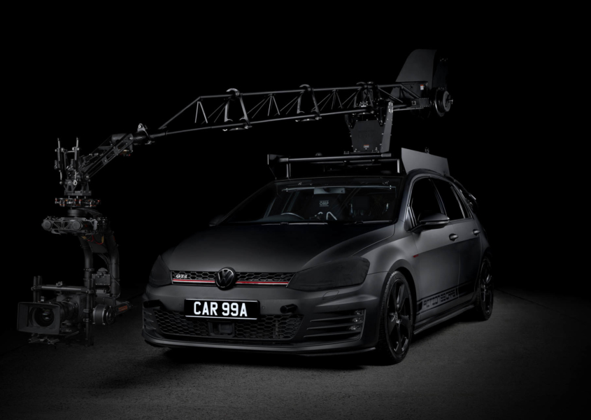 Golf GTI Ultra Arm Action 99 Cars Movie Pursuit Vehicle