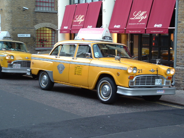 Action99cars New York Checker Cab