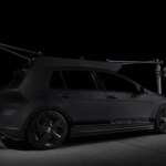 High Speed Tracking Vehicle Golf GTI Action 99 Cars
